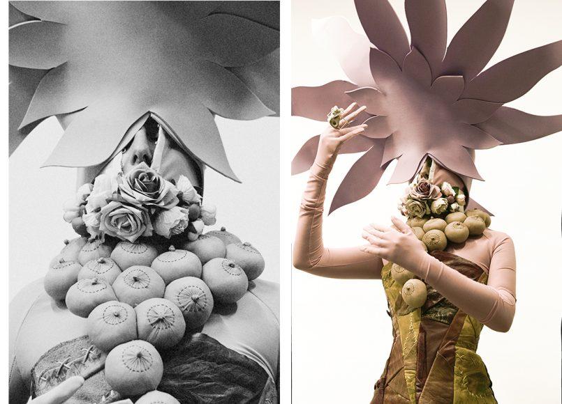 crop ALVARO MARS corset ALVARO MARS necklace MYRIAM MORENO