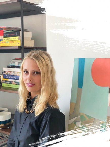 Adele Smejkal, founder of Artistellar