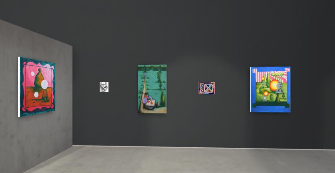 Artistellar, WORKS ON PAPER Exhibition, Installation Shot