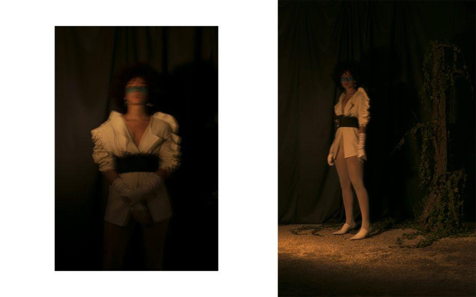 Earrings: H&M Studio Belt: Sara Roka Shoes: Top Shop Blazer: I Ragazzi del Rosso