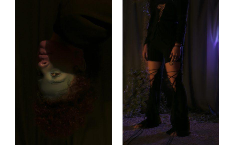 Suit: Sara Latella Earrings: Laura Bassan jewels