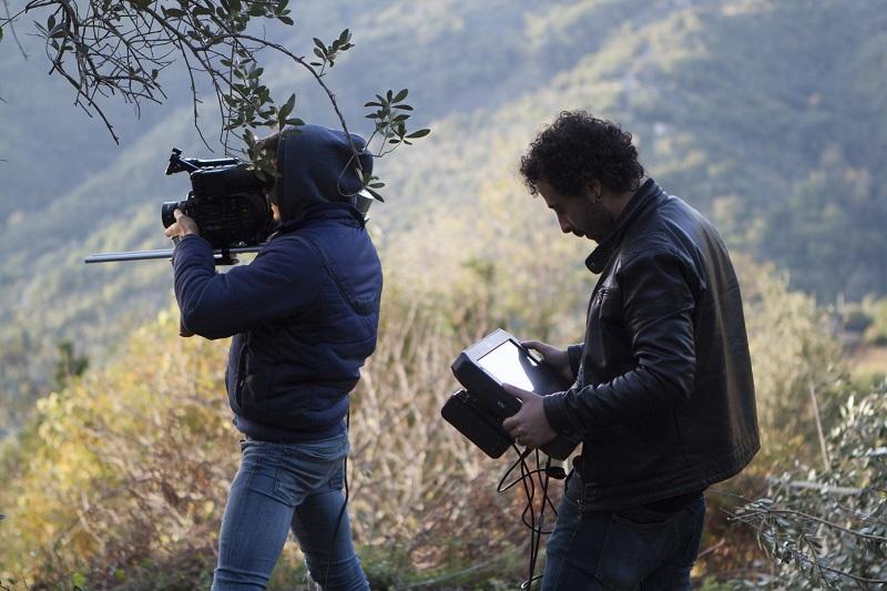 Backstage corto Malum Aeterni di Luigi Scarpa