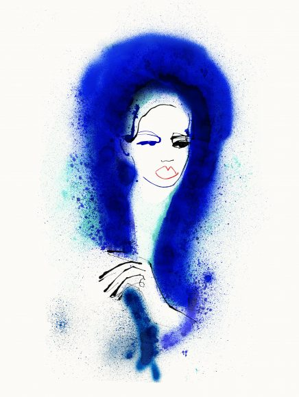 CAROLINE_TOMLINSON_BLUE_FIR_SHRIMPS_FASHION_ILLUSTRATION3