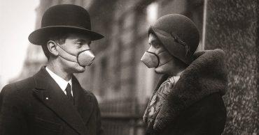 La mascherina nella storia