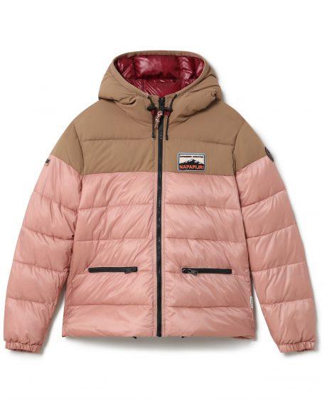 giacca corta Ater dotata di sistema isolante down-free riciclato