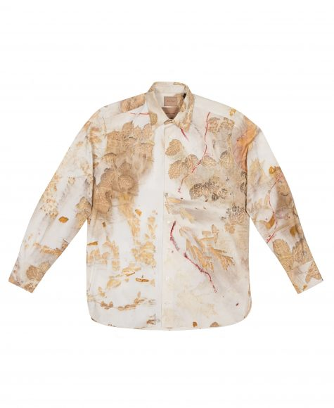 Camicia con tintura naturale 655€