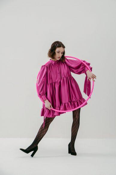 -Abito (B.design Couture) -Collant (Gucci) -Decollete (Zara)