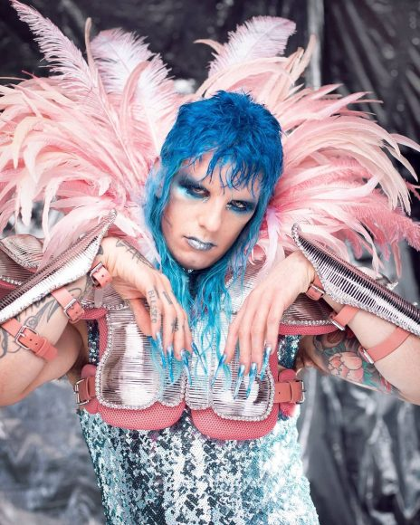 1rst Achille Lauro Glam Rock