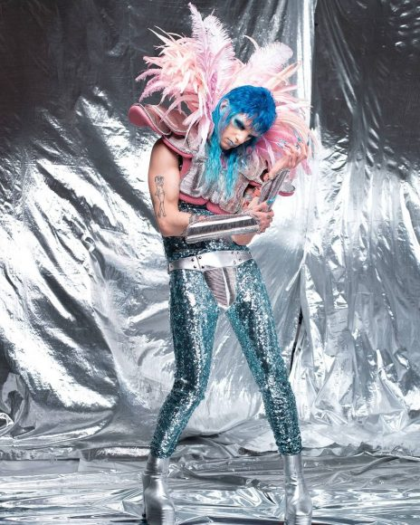 Achille Lauro 1rst Glam Rock