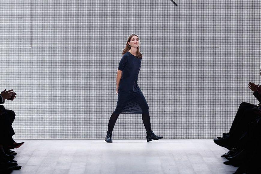 Designer Julia Seemann in Mercedes-Benz Fashion Days Zurich, 2014