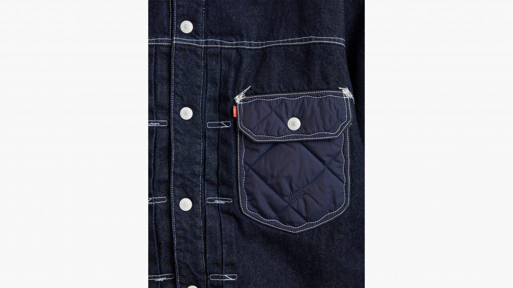 LEVI'S red pocket details