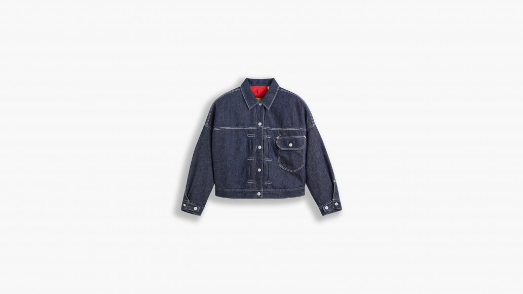 Red Trucker Jacket