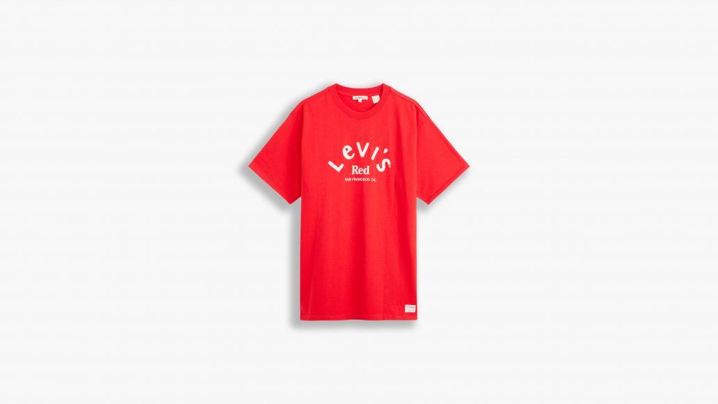 LEVI'S red shirt man