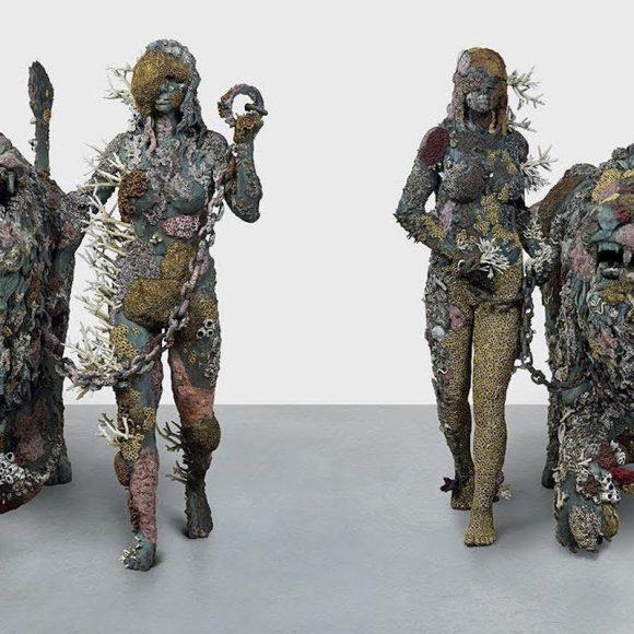 """Dalla mostra di Damien Hirst """"Archaeology Now"""" 2021 Bronze. Collezione privata. Foto Ph. by A. Novelli © Galleria Borghese"""