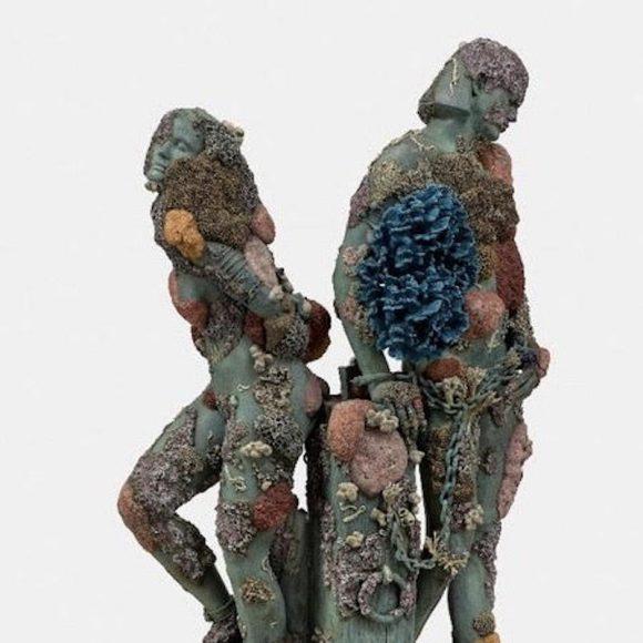 """Dalla mostra di Damien Hirst """"Archaeology Now"""" 2021. Bronzo. Collezione privata. Foto Ph. by A. Novelli © Galleria Borghese"""