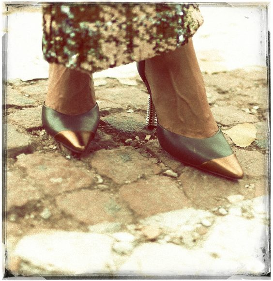 Pants WEILI ZHENG Shoes RICAGNO
