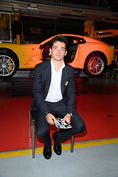 Ferrari Fashion Collection Runway  Arrivals - Charles Leclerc