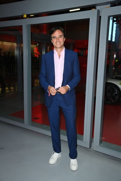 Ferrari Fashion Collection Runway  Arrivals - Emanuele Farneti