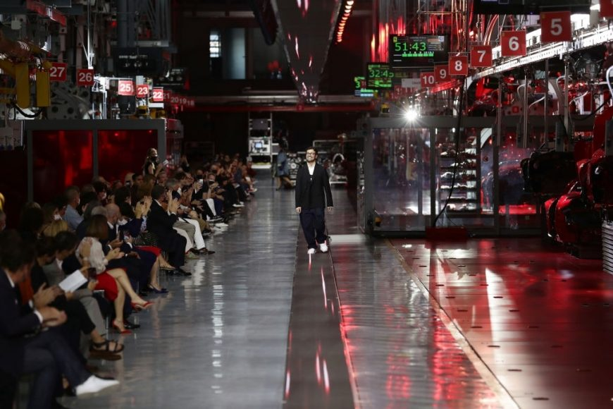 Ferrari Fashion Collection Runway - Fashion Designer Rocco Iannone