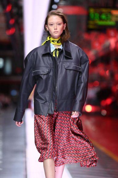 Ferrari Fashion Collection Runway - Model Sara Grace Wallerstedt