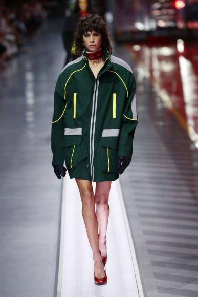 Ferrari Fashion Collection Runway - Model Mica Argañara