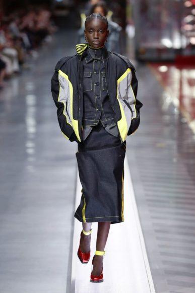 Ferrari Fashion Collection Runway - Model Maty Fall Diba