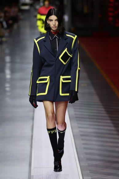 Ferrari Fashion Collection Runway - Model Maria Carla Boscono