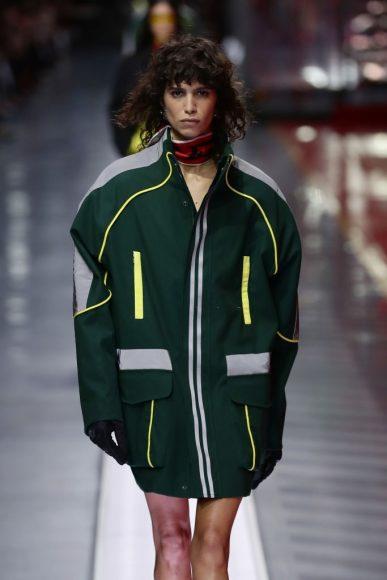 Ferrari Fashion Collection Runway - Model Mica Argañara Closer