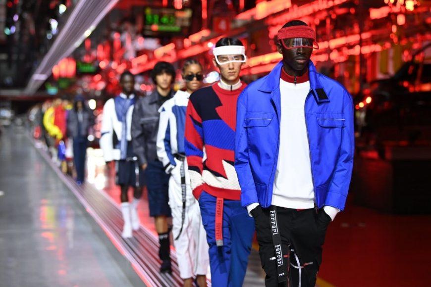 Ferrari Fashion Collection Runway