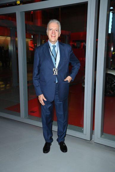 Ferrari Fashion Collection Runway -Arrivals - Piero Lardi Ferrari