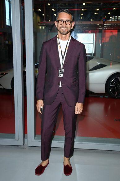 Ferrari Fashion Collection Runway -Arrivals - Simone Marchetti
