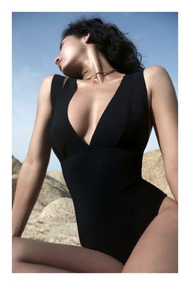 Swimsuit pain de sucre  collier delphine lamarque