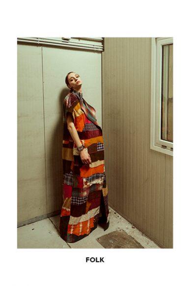 Patchwork coat: Selenia Spronato  Pants: Bershka  Gilet: Gianni Lupo  Socks & shoes: Stylist's own