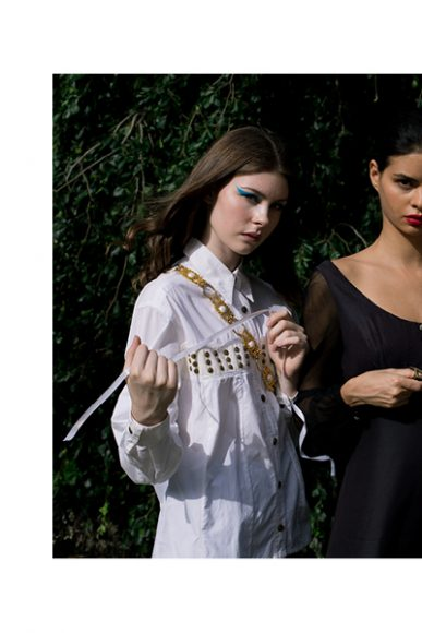 Top Gianfranco Ferrè, Blazer Vintage Camomilla Milano  shirt Versace   vintage couture supplied by PWC Milano