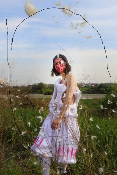 Brand (white set up dress):  XU XINYUE