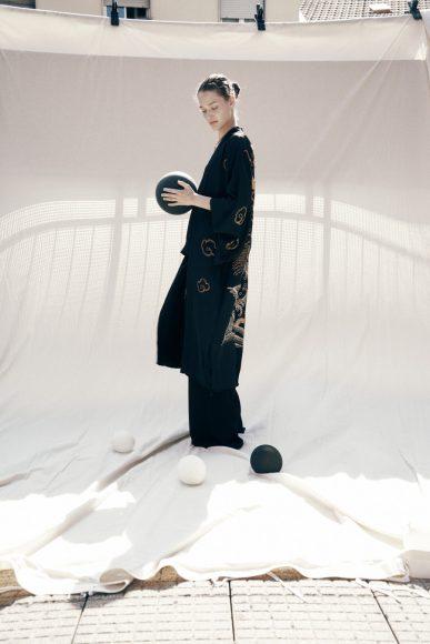 Kimono vintage, pants Alcoolique