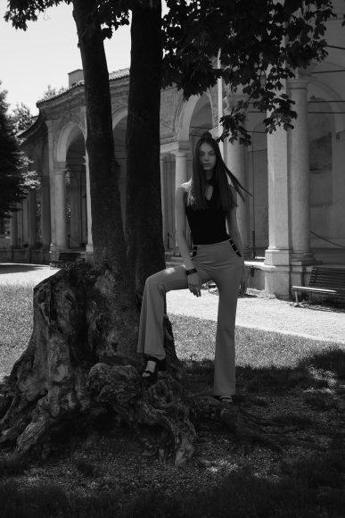 Top - Krizia Trousers - Bershka Shoes - Stylist's own
