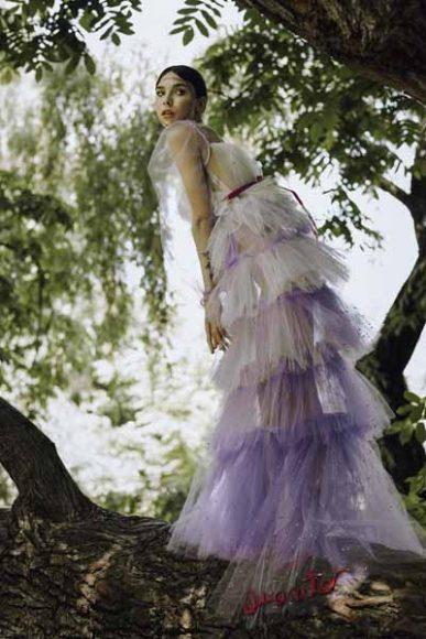 Dress: Althearcadipane