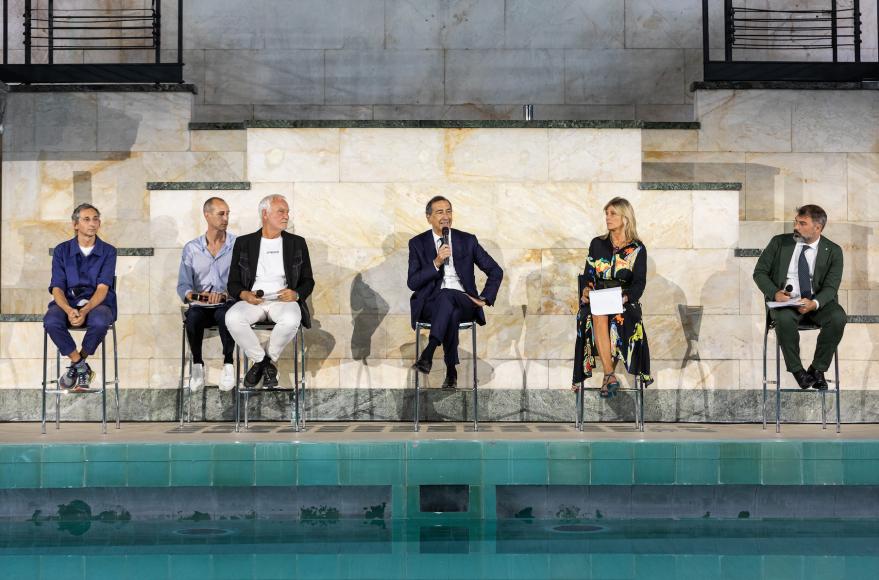 Pierpaolo Ferrari, Thomas Meyer, Giuseppe Sala, Roberta Guaineri e Antonio Iannetta