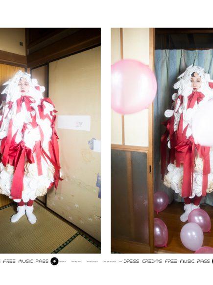 Tops: Aki Masuda Tights, socks: stylists own