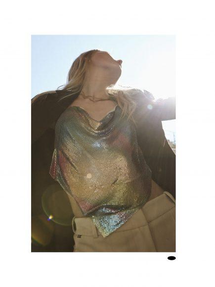 Blazer Solotre Top Bershka  Trousers Kaos  Necklaces archive