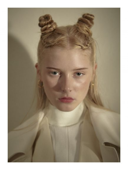 Trench Solotre  Gilet Semicouture  Turtleneck Eufonia Earrings archive